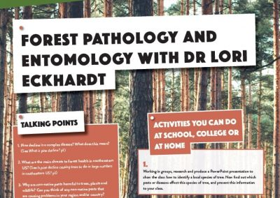 Forest Pathology and Entomology