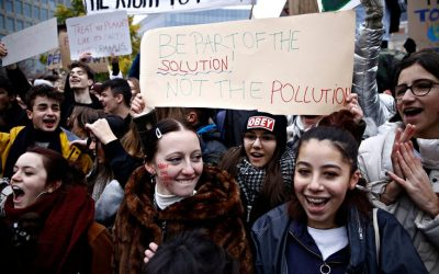 Climate change: young people striking from school see it for the life-threatening issue it is