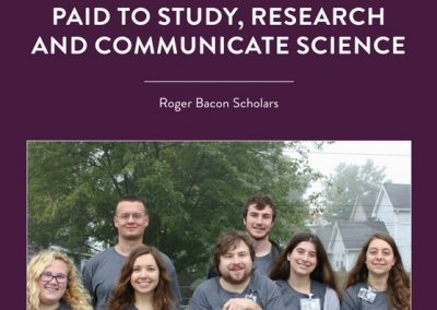 Undergraduate scientists at the University of Saint Francis are receiving scholarships from the National Science Foundation to learn and share their knowledge with […]