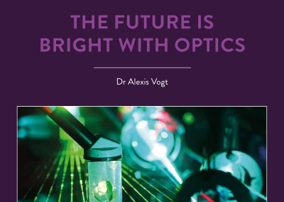 Modern society is increasingly reliant on devices that run on light, but there's a global shortage of optics and photonics technicians. Dr Alexis Vogt of Monroe […]