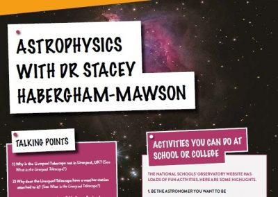 Astrophysics with Stacey Habergham-Mawsom