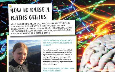 How to raise a maths genius