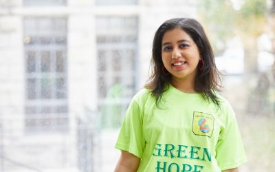 """Adults doubted the capabilities of young people like me."" Kehkashan Basu, 19, Founder of the Green Hope Foundation"