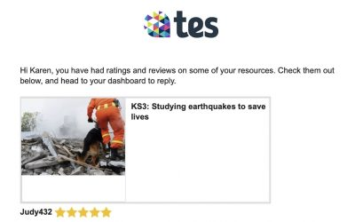 Five stars for Futurum! Our free resources are on TES, a global repository for teachers