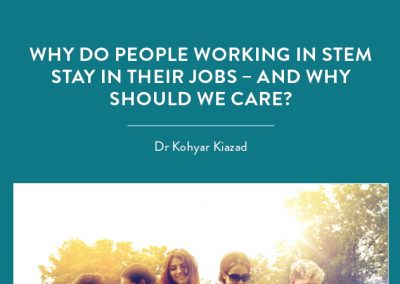 Dr Kohyar Kiazad and his colleagues are looking into reasons why people working in STEM stay in – not leave – their jobs. With the Australian Government […]