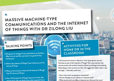 Massive Machine-Type Communications And The Internet Of Things