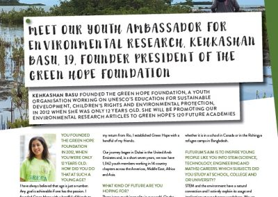 Futurum's Environmental Research Ambassador