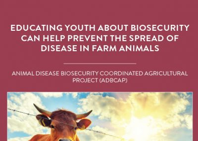 Scientists working on the Animal Disease Biosecurity Coordinated Agricultural Project are investigating biosecurity measures designed […]