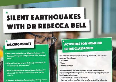 Silent Earthquakes