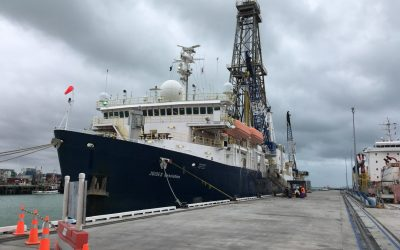 Taking to the seas to discover how the Earth's surface moves