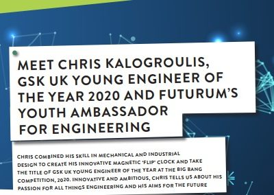 Futurum's Youth Ambassador for Engineering