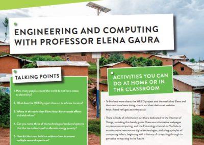 Engineering and Computing