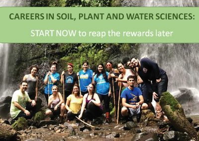 Soil, Plant and Water Sciences
