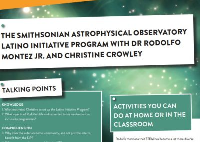 The Smithsonian Astrophysical Observatory Latino Initiative Program