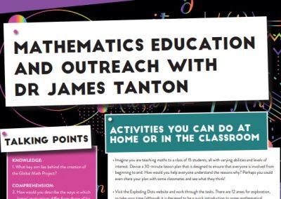 Mathematics Education and Outreach
