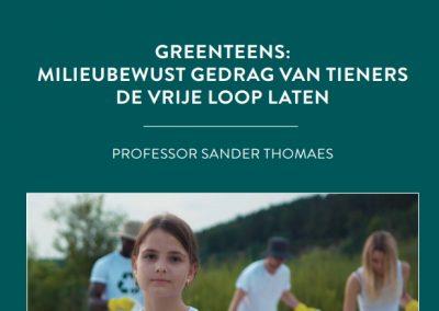 Greenteens: milieuvriendelijk gedrag van tieners de vrije loop laten