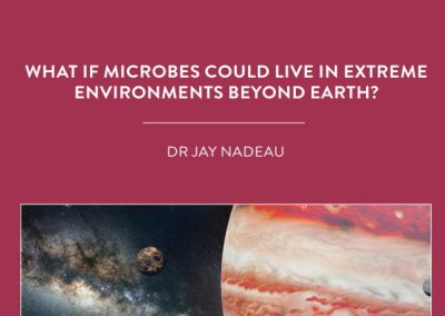 Dr Jay Nadeau, based at Portland State University, USA, is on a quest to find life in extreme environments. Her findings could help inform […]