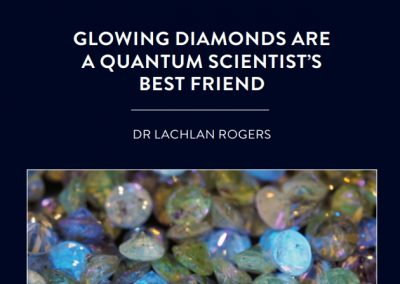 Dr Lachlan Rogers, based at the University of Newcastle in Australia, is investigating diamond colour centres. The ultimate aim is to enable […]