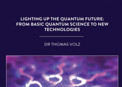 Dr Thomas Volz, based at Macquarie University in Sydney, Australia, uses quantum optics tools and methods to identify materials that will […]