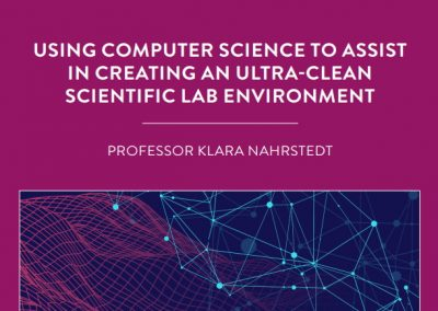 Professor Klara Nahrstedt, of the University of Illinois at Urbanachampaign, USA, leads the Senselet project, which is designed to monitor […]