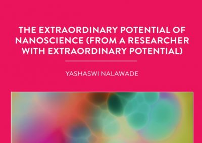Yashaswi Nalawade is currently working on her PHD in Professor Jonathan Coleman's Laboratory at Trinity College in Ireland. The team is […]