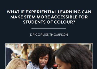 Students of colour continue to be underrepresented within STEM. Opportunity gaps between different groups of people make it […]