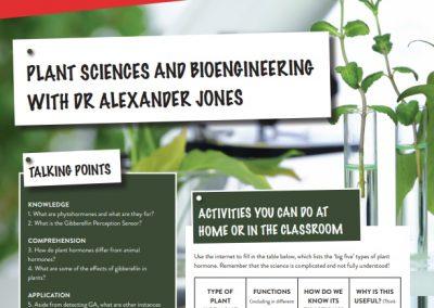 Plant Sciences and Bioengineering