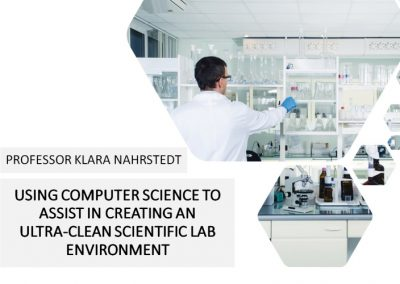 Using computer science to assist in creating an ultra-clean scientific lab environment