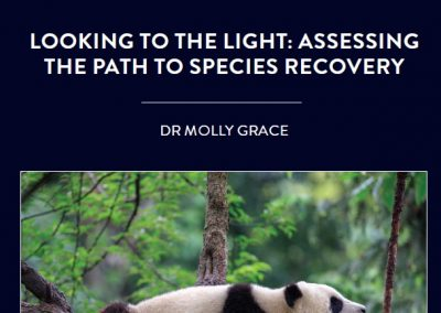 Assessing species' risk of extinction is essential for effective conservation efforts. However, this assessment does not tell the whole story […]