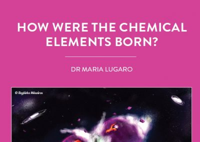 Stars are a cooking pot for all the naturally occurring chemical elements. Dr Maria Lugaro, of the Konkoly Observatory at the Research […]