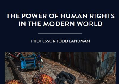 Professor Todd Landman, a political scientist at the University of Nottingham in the UK, is devoted to promoting and preserving human […]