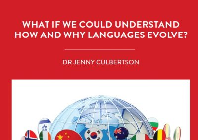 There are over 7,000 languages spoken across the world, but how and why did these languages evolve? To answer this question, Dr Jenny […]