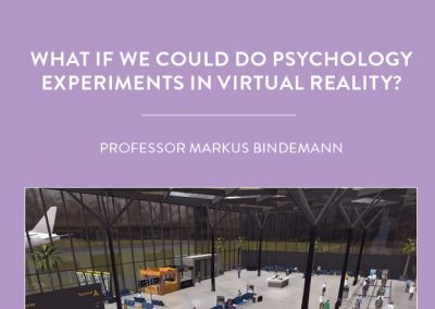 Virtual reality is opening new doors for research in psychology. Based at the University of Kent in the UK, Professor Markus Bindemann and […]