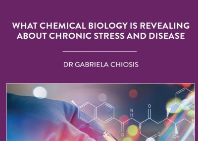 Chronic stress can lead to changes at the cellular level, resulting in disease. Dr Gabriela Chiosis of New York's Memorial Sloan Kettering […]