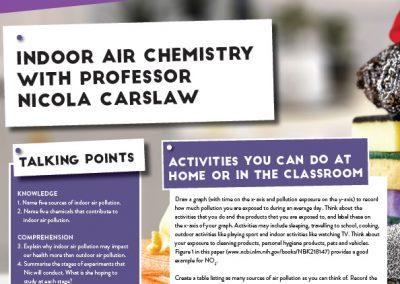 Indoor Air Chemistry