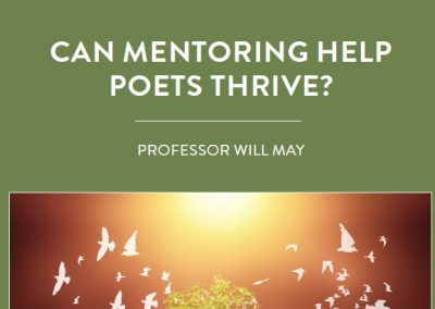 How important has mentoring been in the creative industries? This is what Professor Will May from the University of Southampton in the UK […]