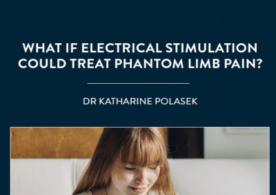Most people who have had a limb amputated will experience some form of phantom limb pain. Unfortunately, currently available drug […]