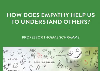 What does it mean to understand someone else? Some would say it requires knowledge of what that person is going through […]